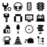 Auto service icons Royalty Free Stock Photos