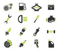 Auto Service Icons Royalty Free Stock Photos