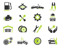 Auto Service Icons. Auto Service simply symbol for web icons and user interface Stock Images
