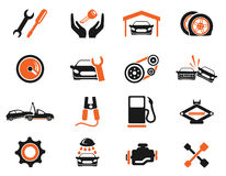 Auto Service Icons Royalty Free Stock Photography