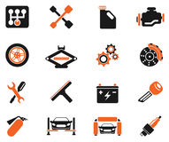 Auto Service Icons. Auto Service simply symbol for web icons and user interface Royalty Free Stock Photo