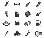Auto Service Icons. Auto Service simply symbol for web icons and user interface Stock Image