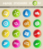 Auto Service Icons. Auto Service simply symbol for web icons and user interface Royalty Free Stock Photos