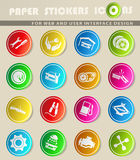 Auto Service Icons. Auto Service simply symbol for web icons and user interface Stock Photos