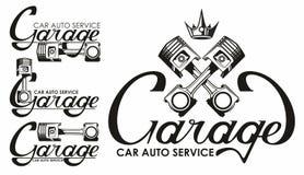 Auto service logo Royalty Free Stock Photos