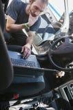 In Auto Service Stock Image