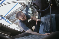 In Auto Service Stock Photography