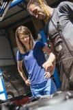 In Auto Service Stock Photo