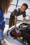 In Auto Service Royalty Free Stock Image