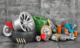 Auto service. Royalty Free Stock Image