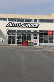 Auto service. Port Coquitlam, CANADA - February 26 : Auto Service store in Port Coquitlam BC Canada. Canadian Tire Corporation operations include Canadian Tire Stock Images