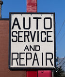 Auto Service and Repair Royalty Free Stock Photo