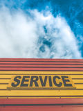Auto Service Repair Sign Stock Photo