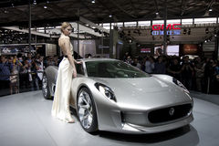 Auto Shanghai 2011 imagens de stock royalty free