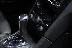 Auto shift car gear lever Royalty Free Stock Image