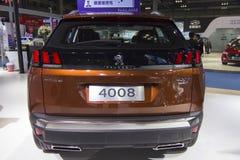 Auto show — Peugeot 4008 car back Stock Photo