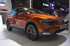 Auto show — Volkswagen Tiguan Stock Photo