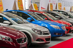 Auto show. Nanning auto show.Photo is taken on :January 1, 2012 at nanning,china stock photography
