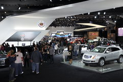 Auto Show. NEW YORK - APRIL 11: Auto Show Exhibit at the 2012 New York International Auto Show running from April 6-15, 2012 in New York, NY Stock Photo