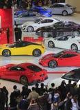 Auto show Royaltyfria Foton