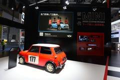 Auto show BMW för mini- tunnbindare Royaltyfria Foton