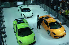 Auto Show in China, Shenzhen Royalty Free Stock Photography