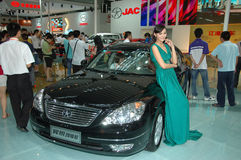 Auto Show in China, Shenzhen Royalty Free Stock Images