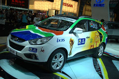 Auto Show in China, Shenzhen Stock Image