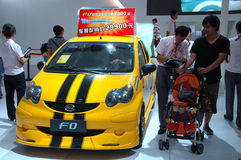 Auto Show in China, Shenzhen Stock Photography