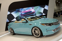 Auto show 2016 in city Dalls. Auto show in city Dallas, TX USA 2016 royalty free stock photos