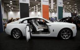 Auto show in Dallas Stock Image