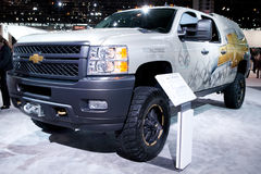 Auto Show. February 12, 2012 in Chicago, Illinois. Royalty Free Stock Photography