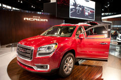 Auto Show. February 12, 2012 in Chicago, Illinois. Stock Photography