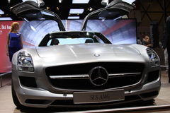 Auto Show Istanbul 2010 Royalty Free Stock Photography