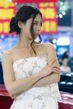 Auto show model Stock Photos