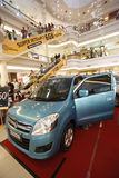 Auto show Stock Photography
