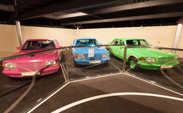 Auto'sinzameling bij het Automuseum van Emiraten Royalty-vrije Stock Afbeelding