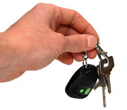 Auto sleutels ter beschikking Royalty-vrije Stock Fotografie