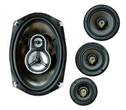 Auto sound loud speaker system Royalty Free Stock Image