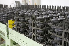 Auto spare parts. In factory Stock Photography