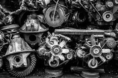 Auto spare parts engine Royalty Free Stock Image