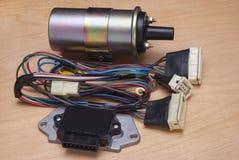 Auto spare parts Stock Photo
