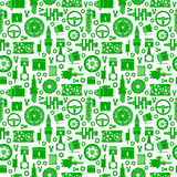 Auto spare parts seamless pattern Royalty Free Stock Photo