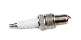 Auto spark plug Royalty Free Stock Photo