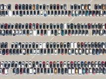Auto'spatroon Royalty-vrije Stock Afbeeldingen