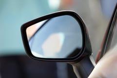 Auto-Spiegel Stockbild