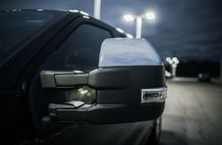 Auto-Spiegel-blinder Fleck Stockfoto