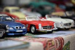 Auto spielt Modelle Stockfotografie