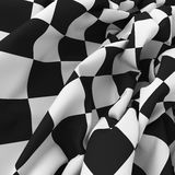 Auto sport grid flag background. Auto sport grid finish flag background. Black and white wallpaper Stock Photos