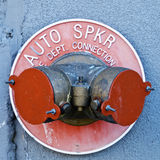 Auto sprinklers Royalty Free Stock Images